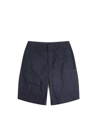 Havana Patch Pocket Short in Navy