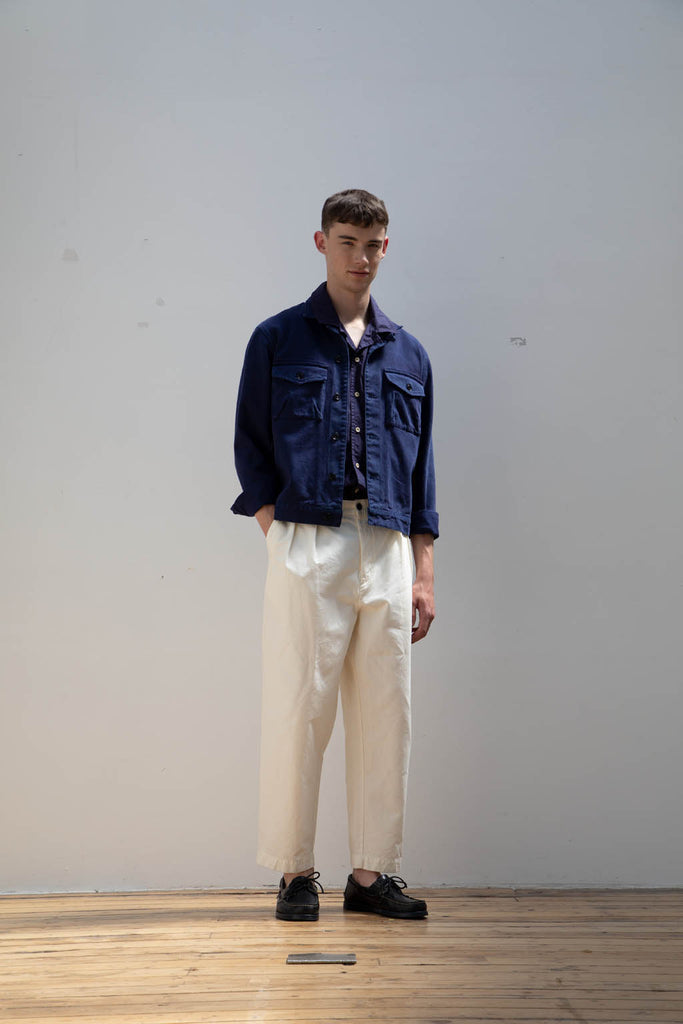 Work Blouson in Chambray