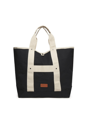Market Tote (Mid Size) in Black