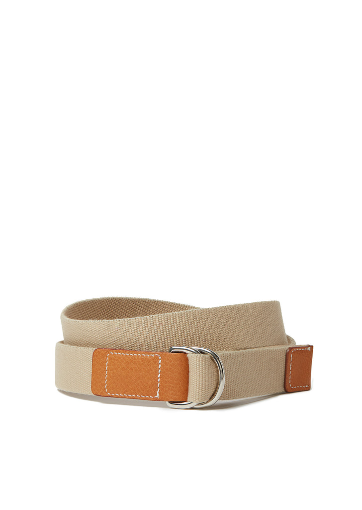 Campbell Cole x Albam D-RING Belt in Tan