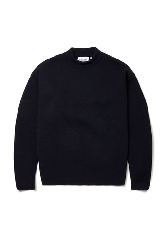 Milano Merchant Sweater in Dark Navy