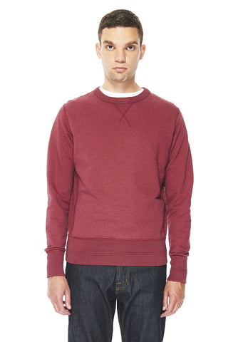 Sweatshirt in Red Marl