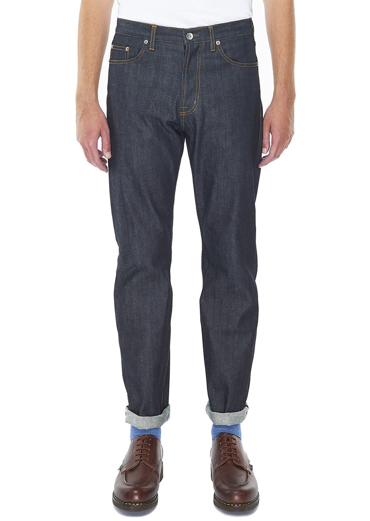 Regular Leg Jean in Indigo