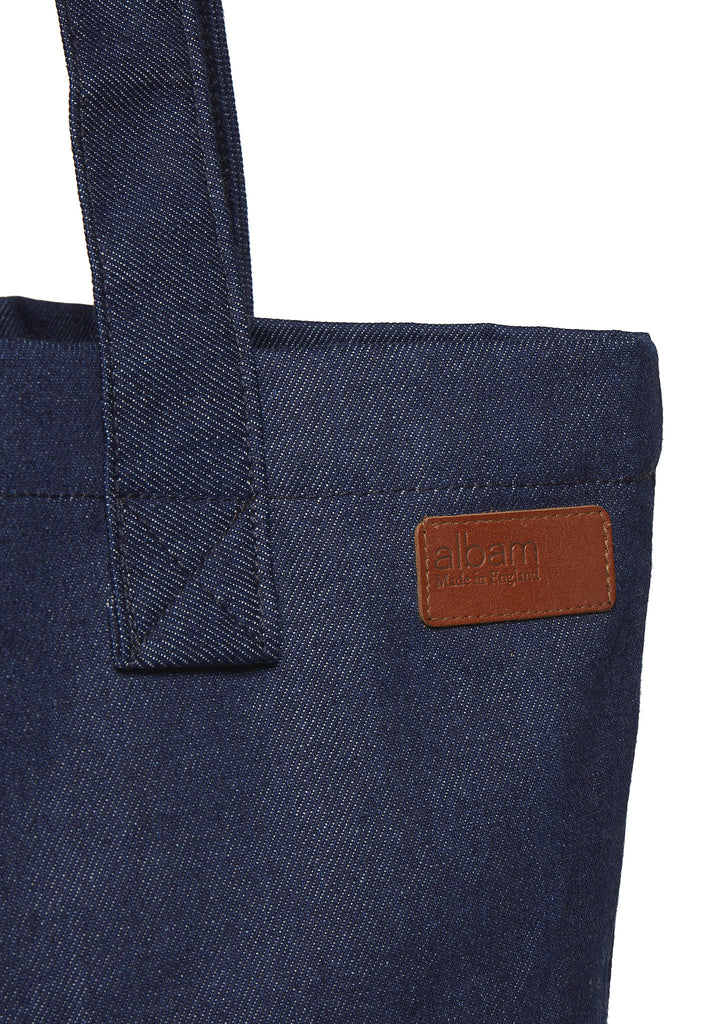 Canvas Shopper in Denim