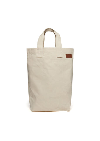 Canvas Shopper in Ivory