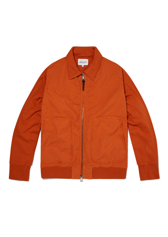 Contrast Bomber in Burnt Orange