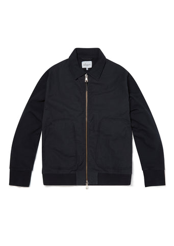 Contrast Bomber in Dark Navy
