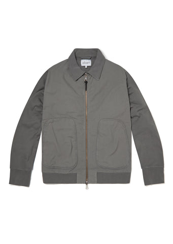 Contrast Bomber in Slate Grey