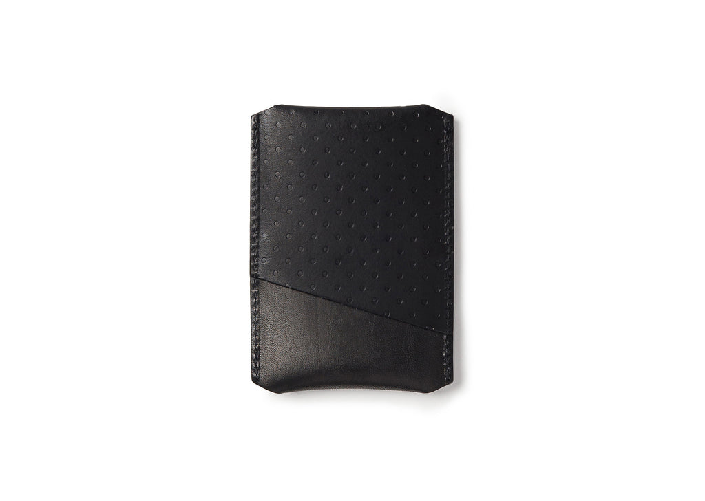 Campbell Cole Simple Card Holder in Black