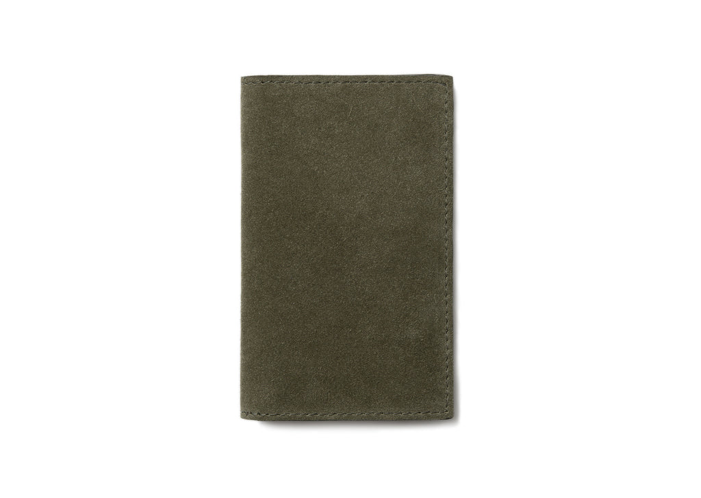 Campbell Cole Slim Card Wallet in Khaki