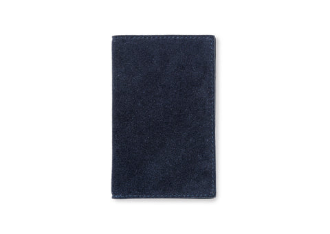 Campbell Cole Slim Card Wallet in Navy