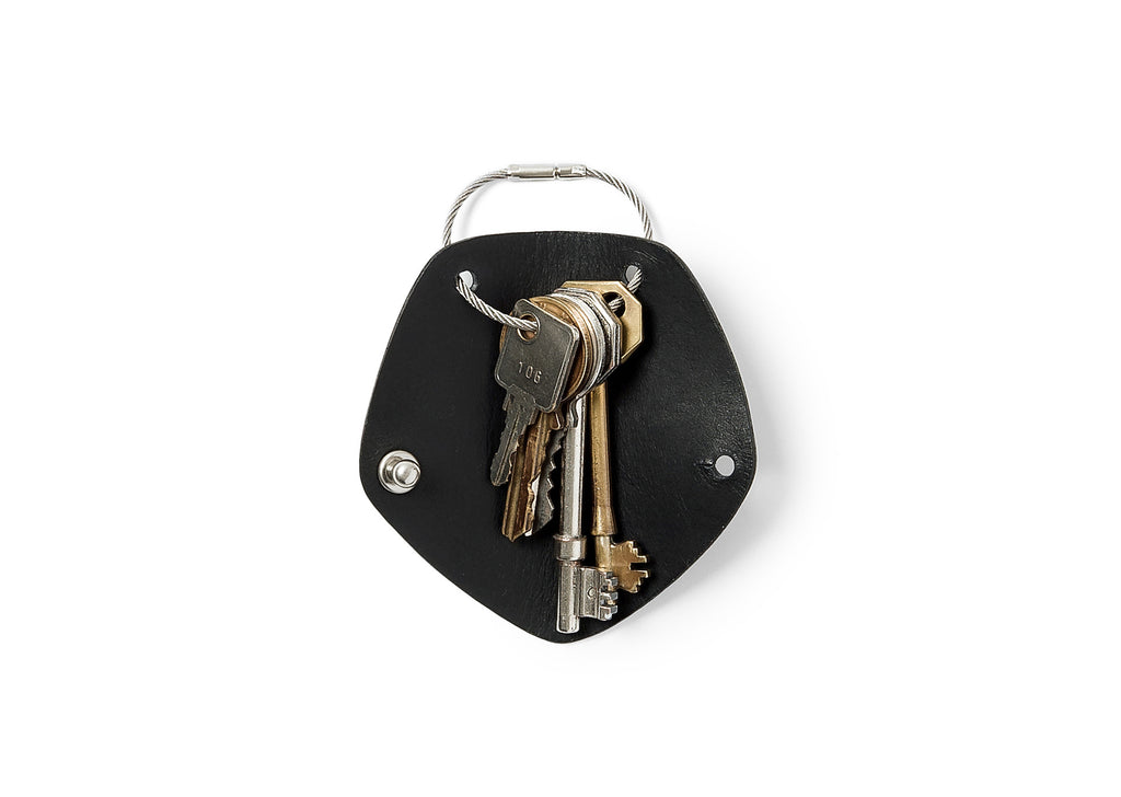 Campbell Cole Simple Key Holder in Black