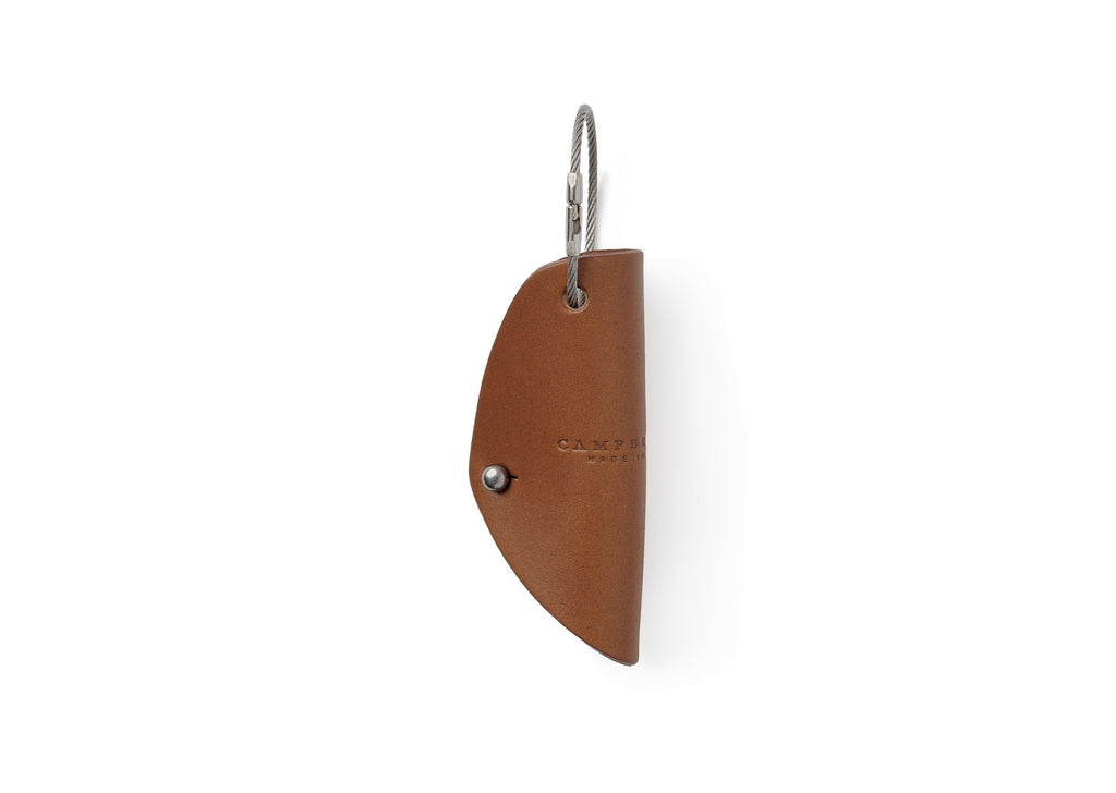 Campbell Cole Simple Key Holder in Tan
