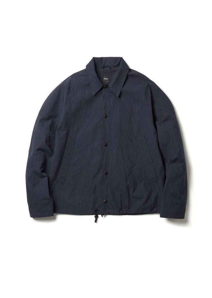 Canvas Coach Jacket in Navy