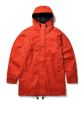 Cold Weather Parka in Blood Orange