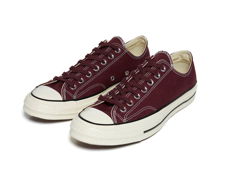 Converse 70's Lo in Burgundy