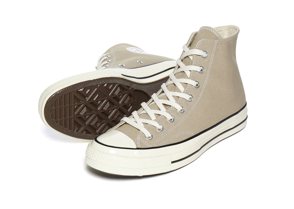 Converse 70'S Hi in Khaki/Black
