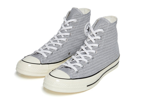 Converse 70's Hi in White/Black/Egret