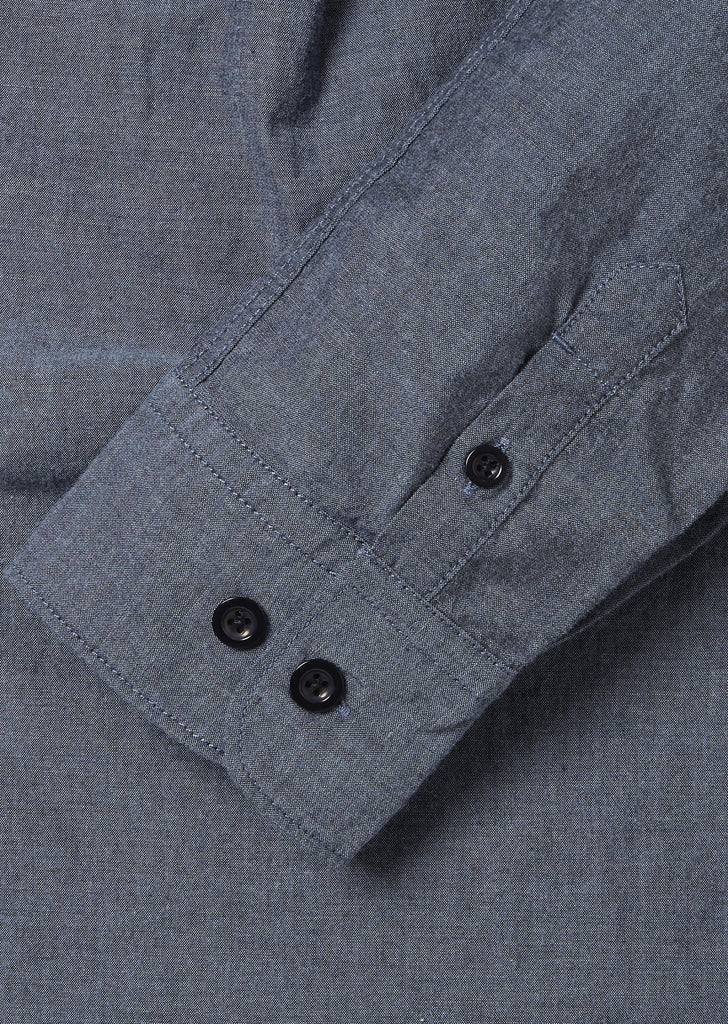 Cousteau Shirt in Chambray