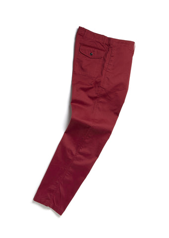 Bleaklow Chino in Maroon