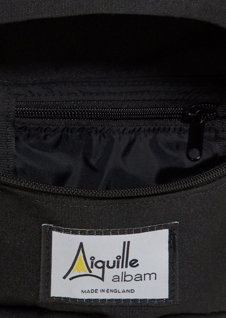 albam x Aiguille Marsupium Bag in Black