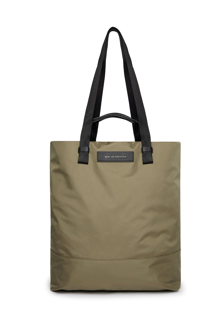 Want Les Essentials - Dayton Shopper Tote in Sage Nylon