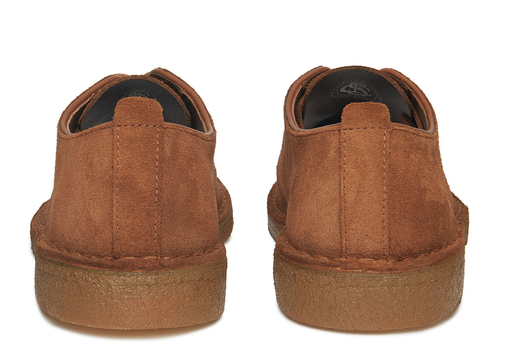 Clarks Desert London in Cola Suede