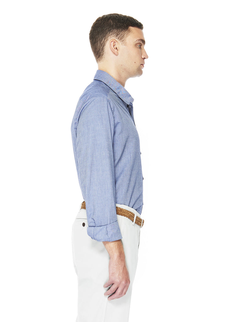 Easy Shirt in Dark Blue Oxford