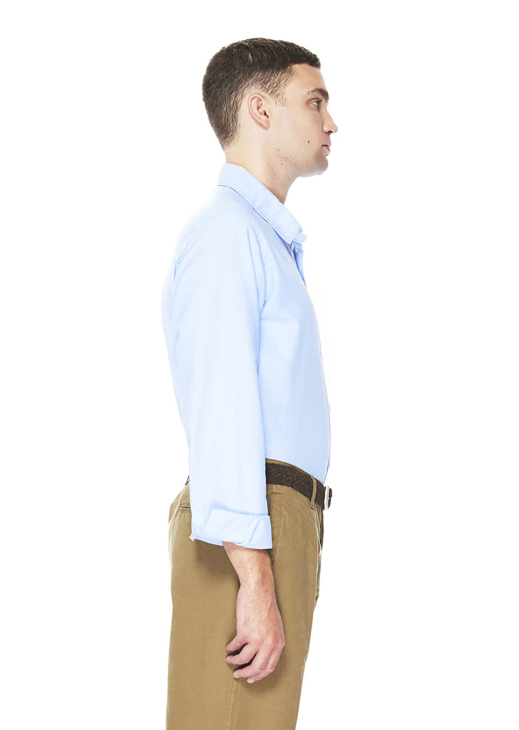 Easy Shirt in Light Blue Oxford