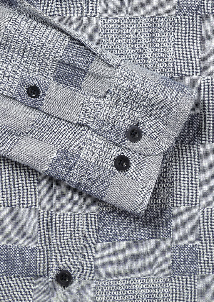 Easy Shirt in Chambray Patchwork