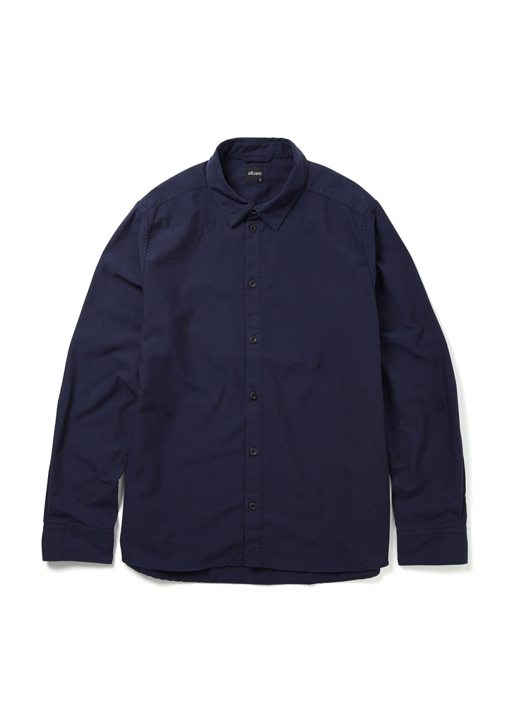 Easy Shirt in Navy Oxford