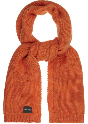 Guernsey Scarf in Orange