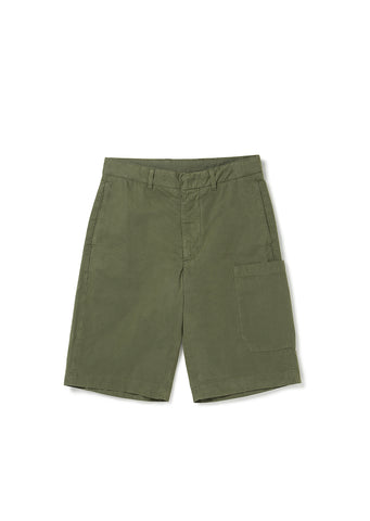 Havana Patch Pocket Short in Olive
