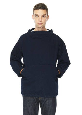 Fisherman's Smock in Indigo