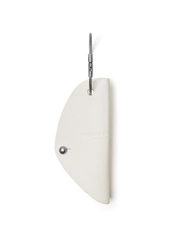 Campbell Cole Simple Key Holder in White