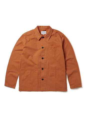 Loco Work Jacket in Burnt Orange