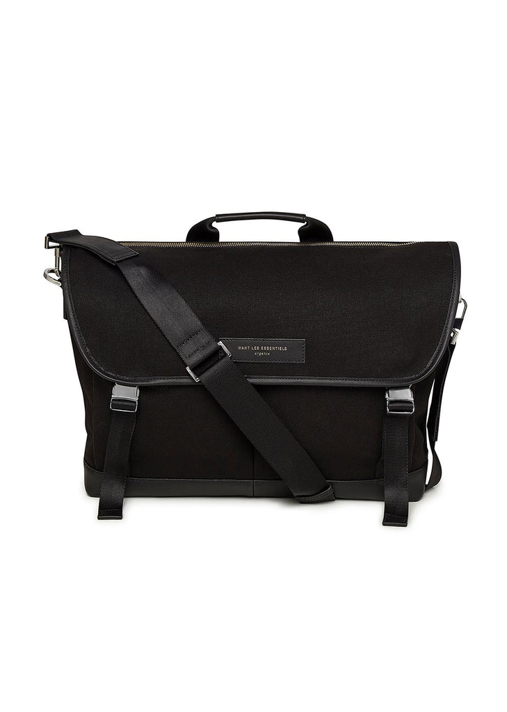 Jackson Messenger Bag in Black