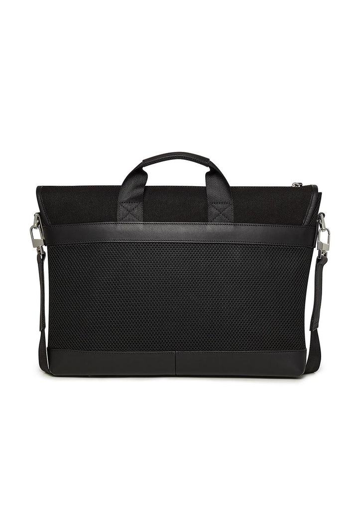 Want Les Essentials - Jackson Messenger Bag in Black