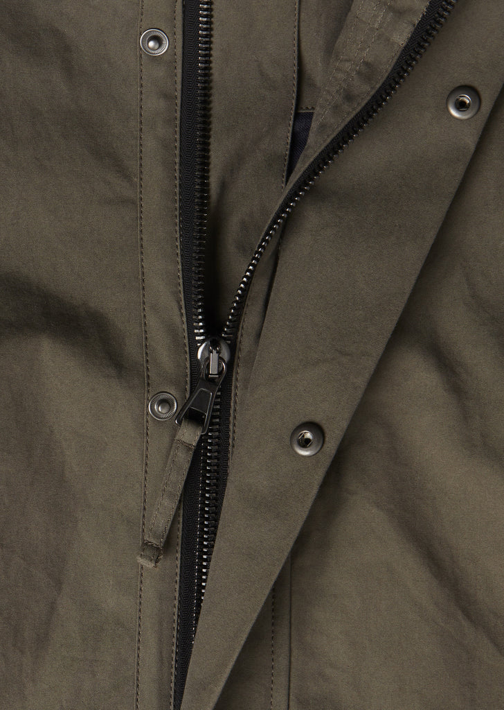Canvas MK3 Parka in Olive
