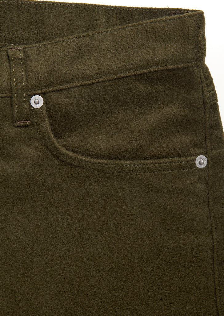 Moleskin Regular Jean in Olive