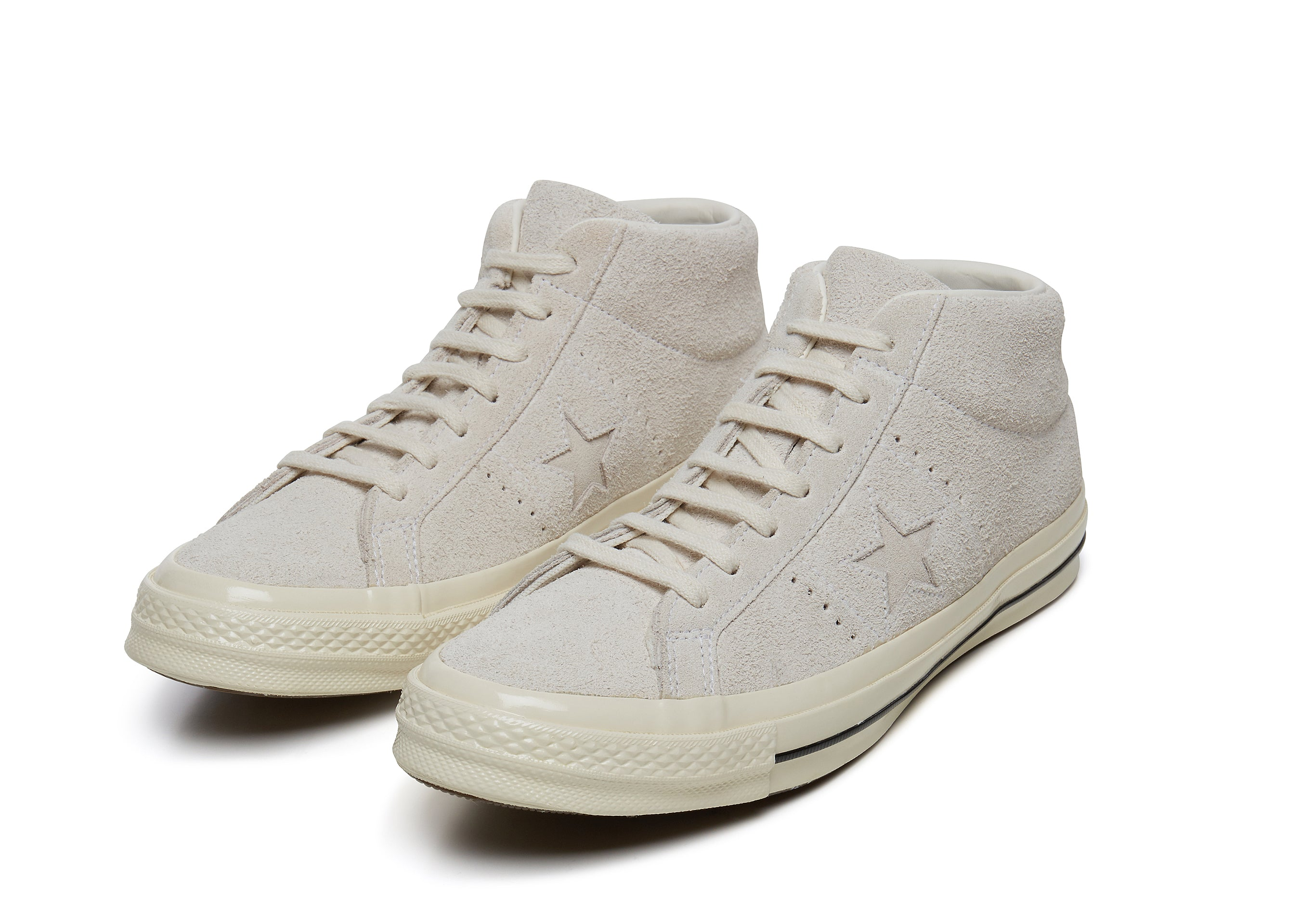 b580e8b0f264 Converse One Star  74 Mid Vintage Suede in Egret