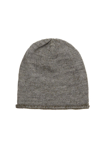 Plaited Hat in Grey/Forest