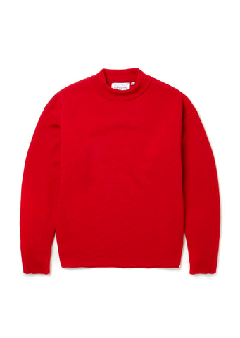 Milano Merchant Sweater in Red