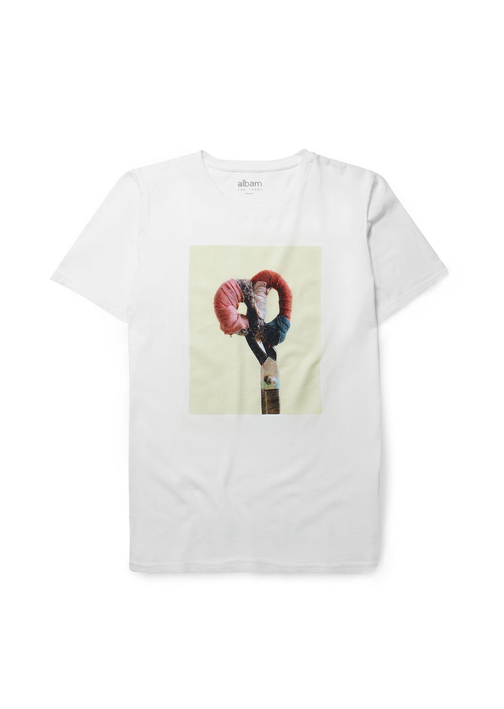 New - Shears T-Shirt in White