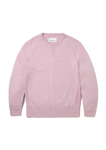 Garment Dye Sweatshirt in Pink