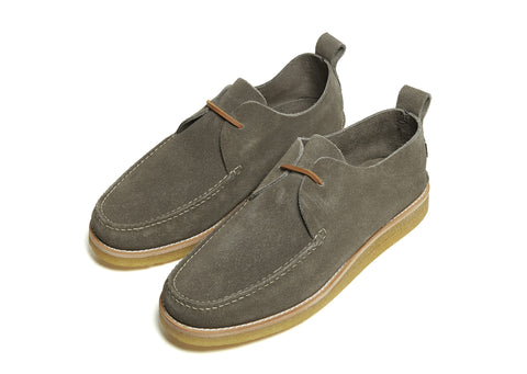Yogi Lawson Crepe Shoe in Grey