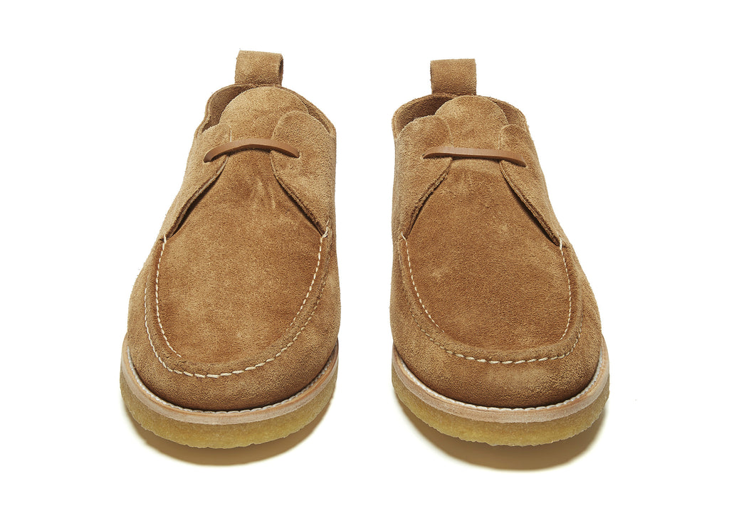 Yogi Lawson Crepe Shoe in Sand