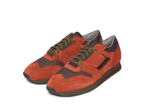 British Military Trainer in Orange/Olive