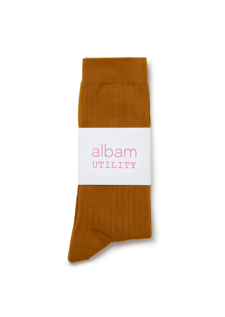 Utility Sock in Tan