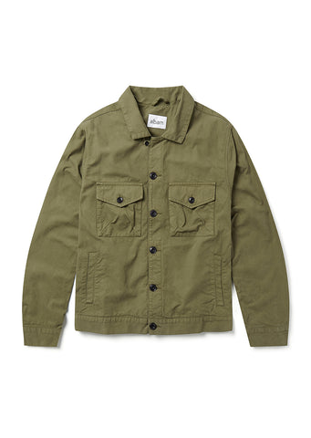 Work Blouson in Olive